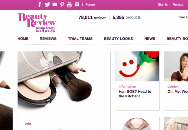 Beauty Review, article, media, interview, New Zealand