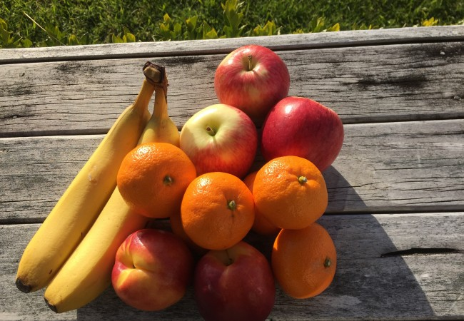 Food missed after gastric bypass, fruit, apples, mandarins, bananas