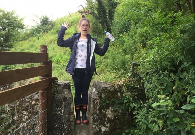 Melissa, Walk, gumboots,