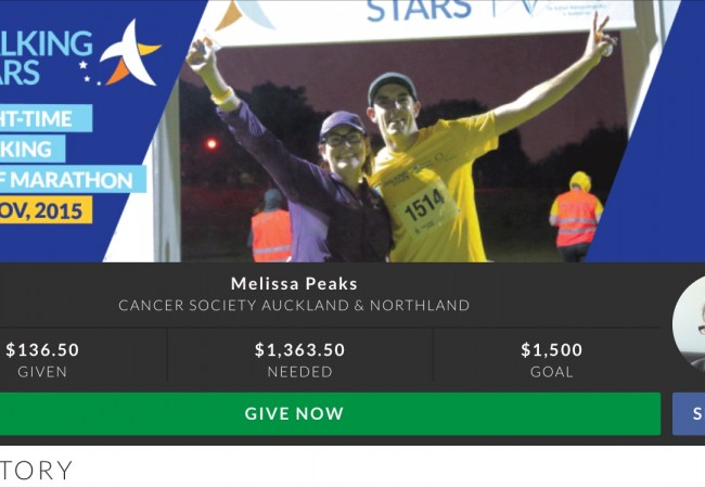 My Next Exercise Goal: Walking Stars Half Marathon