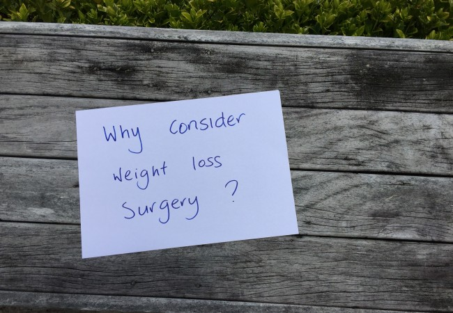 Why Even Consider Weight Loss Surgery?