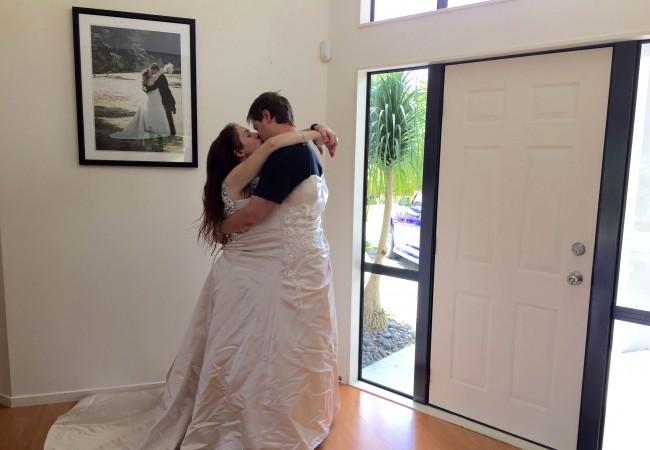 My wedding dress five years on