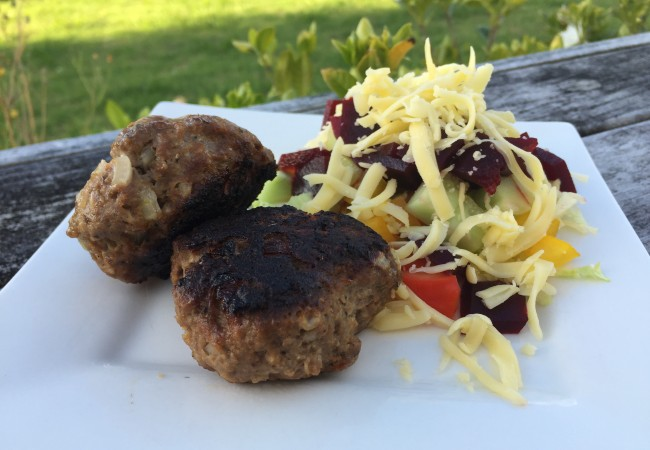 Bariatric approved rissole and burger patty recipe!