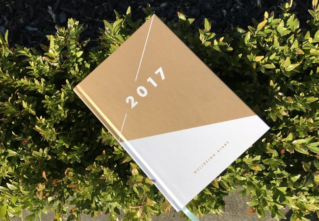 This year I'm keeping a wellbeing diary!