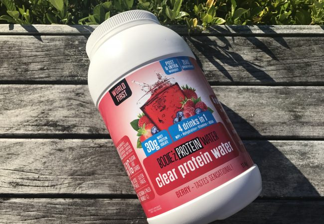 BODIE'z Clear Protein Water Review